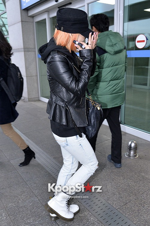 Miss A's Min at Incheon International Airport Departing to Hong Kongkey=>10 count21