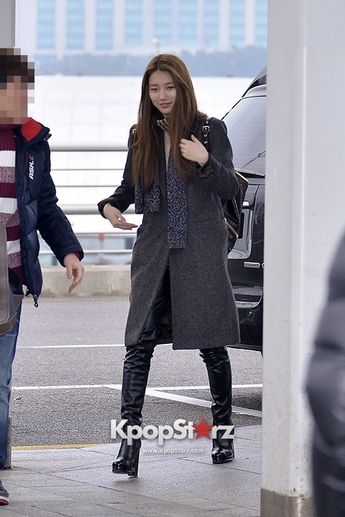 Miss A's Suzy at Incheon International Airport Departing to Hong Kongkey=>13 count21