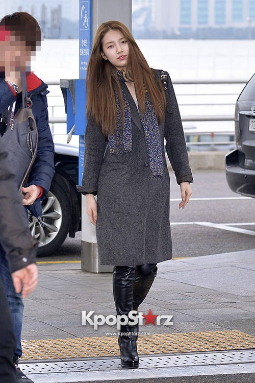 Miss A's Suzy at Incheon International Airport Departing to Hong Kongkey=>14 count21