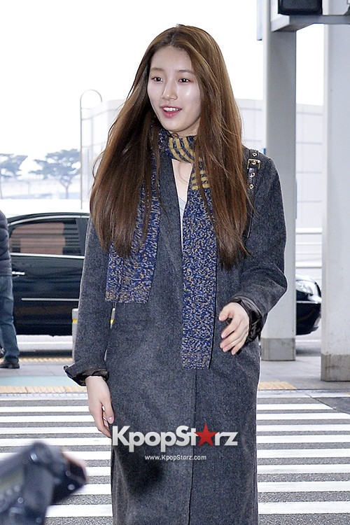 Miss A's Suzy at Incheon International Airport Departing to Hong Kongkey=>15 count21