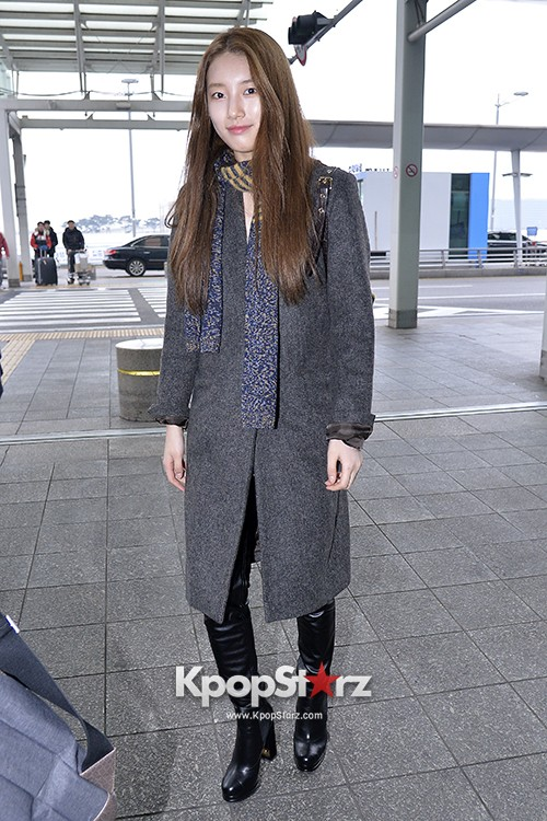 Miss A's Suzy at Incheon International Airport Departing to Hong Kongkey=>16 count21