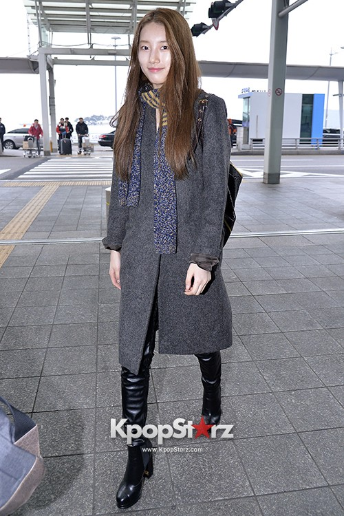 Miss A's Suzy at Incheon International Airport Departing to Hong Kongkey=>17 count21