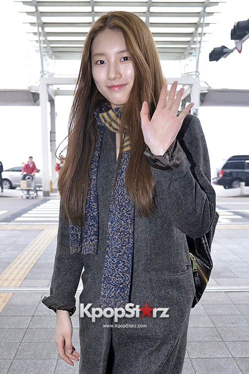Miss A's Suzy at Incheon International Airport Departing to Hong Kongkey=>18 count21
