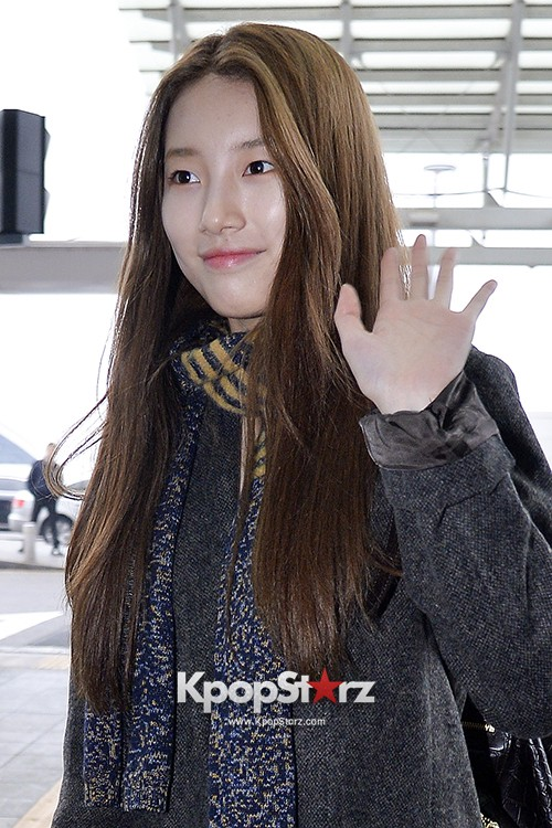 Miss A's Suzy at Incheon International Airport Departing to Hong Kongkey=>19 count21