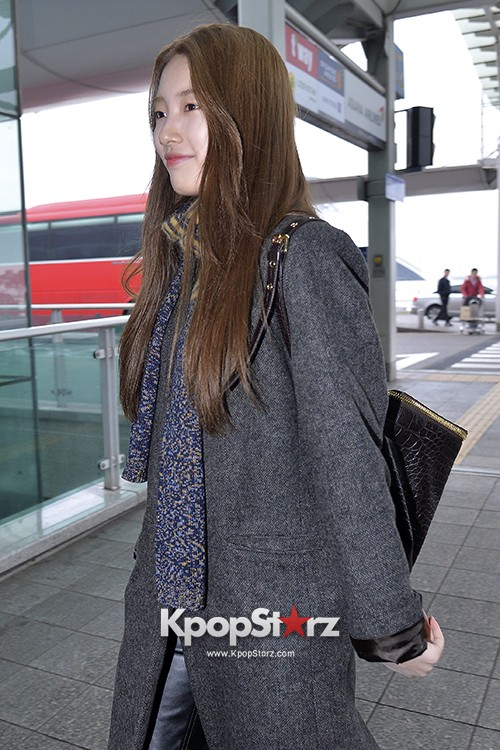 Miss A's Suzy at Incheon International Airport Departing to Hong Kongkey=>20 count21