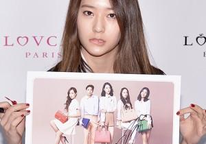 f(x) Krystal at Lovcat Fansign Event