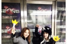 dara at big bang's concert
