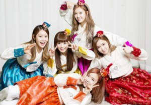 Crayon Pop Lunar New Year Greetings