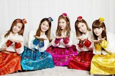 Crayon Pop Lunar New Year Greetings (they'll probably eat tteokguk later!)