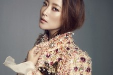 Kim Hee Sun in an Elegant Photoshoot with Marie Claire Magazine in the February 2014 Issue