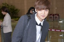 EXO's Luhan at Gimpo Airport, Departing for Beijing
