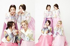 girls day in hanbok