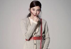 Kim Ha Neul : JILL STUART 2014 SS - BAZAAR 2014 February Issue