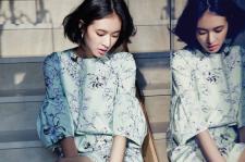 Kim Woo Bin's Girlfriend Yoo Ji Ahn : JILL STUART 2014 SS - BAZZAR 2014 February Issue