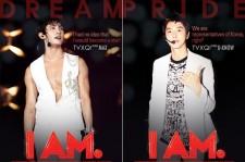 TVXQ's 'IAM' Posters Revealed