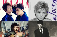 It is great to see the members of TVXQ and JYJ on magazine covers, but who looks hotter?