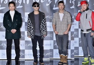 Ji Sung, Jin Goo, Tim and Yang Dong Geun Attended the VIP Premiere of Upcoming Film 'The Apostle : He was anointed by God, 2014'