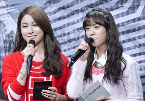 MC Gyuri & Seungyeon at SBS MTV The Show - All about K-POP