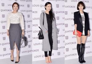 So Yi Hyun, Son Soo Hyun and Yoon Seung Ah Attend Louis Quatorze 2014 S/S Showcase - Feb 6, 2014 [PHOTOS]