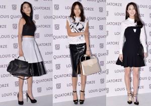 Han Go Eun, Han Hye Jin and Lee Soo Kyung Attend Louis Quatorze 2014 S/S Showcase - Feb 6, 2014 [PHOTOS]