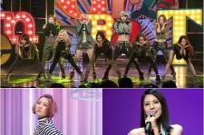 3rd Week Of February - The Women's War! Girls Generation Vs Sunmi Vs Park Ji Yoon