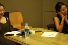 Lee Hyori and Gain (left)