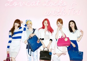 f(x) Krystal, Sulli, Luna, Amber and Victoria - LovCat 2014 Spring Fashion Pictorial