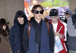 SHINee(Onew, Jonghyun, Key, Minho, Taemin) at Gimpo Airport back from Japan - Feb 11, 2014 [PHOTOS]