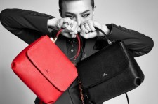 G-Dragon appears with J.Estina's 'Juno Bag' for 'Fashion Insight'.