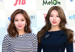 Miss A[Fei, Jia, Min, Suzy] Attends The 3rd Gaon Chart KPOP Awards - Feb 12, 2014 [PHOTOS]