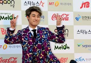 San E Attends The 3rd Gaon Chart KPOP Awards - Feb 12, 2014 [PHOTOS]