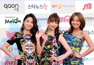 SISTAR Attends The 3rd Gaon Chart KPOP Awards - Feb 12, 2014 [PHOTOS]