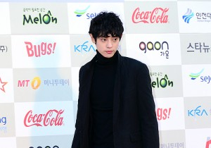 Jung Joon Young Attends The 3rd Gaon Chart KPOP Awards - Feb 12, 2014 [PHOTOS]