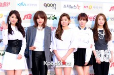4Minute Attends The 3rd Gaon Chart KPOP Awards - Feb 12, 2014 [PHOTOS]
