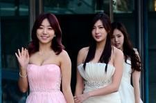 A Pink Attends The 3rd Gaon Chart KPOP Awards - Feb 12, 2014 [PHOTOS]