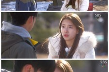 Suzy reintroduces herself to Kim Soo Hyun on 'You Who Came From The Stars'.