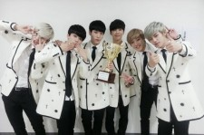 B.A.P Takes First Music Program Win!