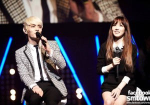 S.M. THE BALLAD Vol. 2 Joint Recital [PHOTOS]