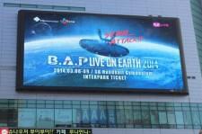 B.A.P Even Advertises Like Leading Idols