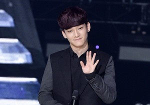 EXO's Chen and Zhang Li Yin at SBS MTV The Show : All about K-POP - Feb 18, 2014 [PHOTOS]