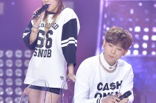 SISTAR's Soyou and Hip Hop Vocal JungGiGo at SBS MTV The Show : All about K-POP - Feb 18, 2014 [PHOTOS]