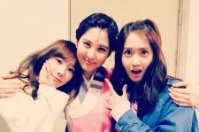 taeyeon yoona support for seohyun