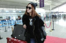 Miss A Fei's Airport Fashion