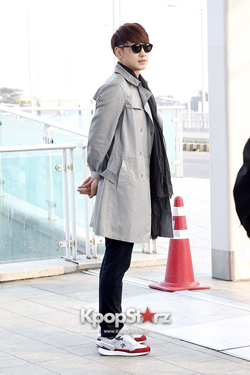 Rain at Incheon International Airport for Running Man in Australia - Feb 22, 2014 [PHOTOS]key=>13 count23