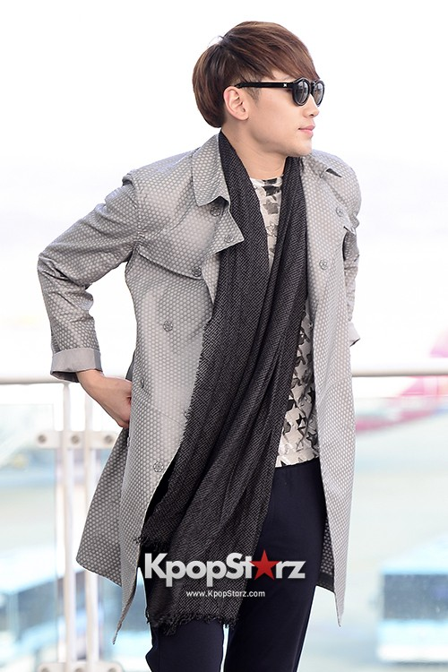 Rain at Incheon International Airport for Running Man in Australia - Feb 22, 2014 [PHOTOS]key=>20 count23