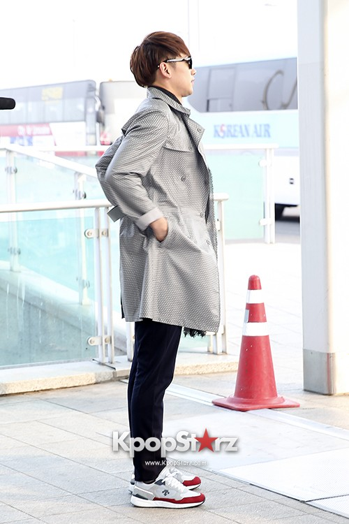 Rain at Incheon International Airport for Running Man in Australia - Feb 22, 2014 [PHOTOS]key=>22 count23