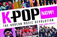 The cover of Mark James Russell's 'K-Pop Now!' features some of the hottest stars in K-Pop.