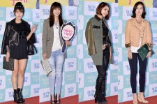 Choi Yoon Young, Do Ji Won, JeA and Oh Yun Soo Attend the VIP Premiere of Upcoming Film 'The Actress Is Too Much'