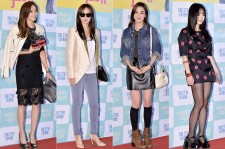 Han Chae Youn, Kim Ah Joong, Lee So Yeon and Seo Woo Attend the VIP Premiere of Upcoming Film 'The Actress Is Too Much'