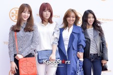 SISTAR at TORY BURCH'S Eau De Perfume Launching Party